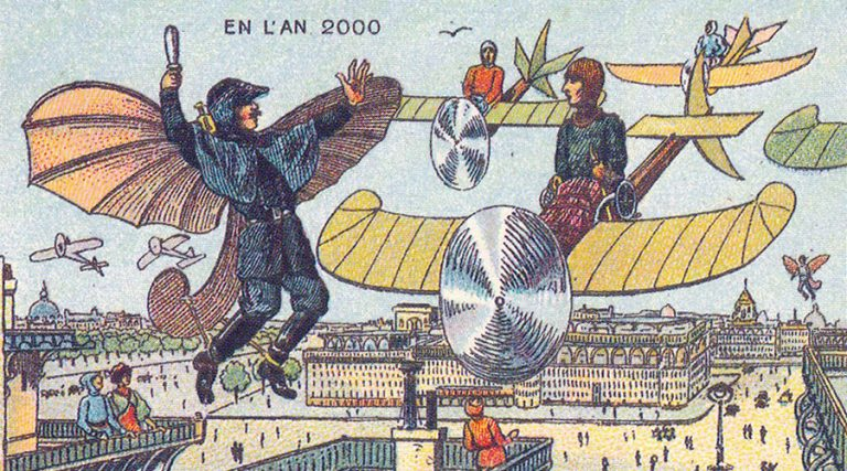 France_in_XXI_Century._Flying_police