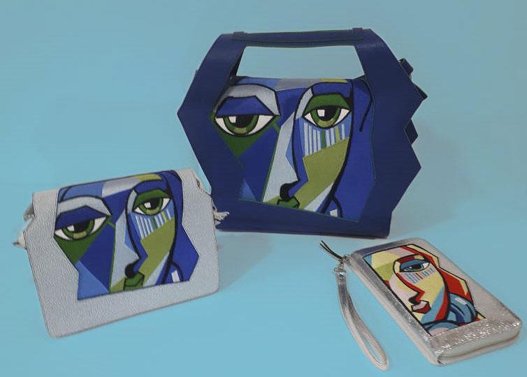 Borse d'artista, di Nadia Chellaoui